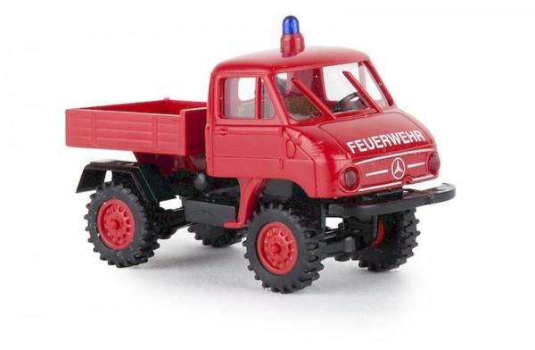 """87 Unimog 411 Pritsche """"Feuerwehr"""" NH2020(I)"""""""
