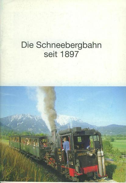 Buch Die Schneebergbahn seit 1897
