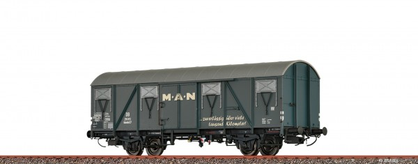 H0 Güterwagen Glmmhs 57 DB, III, MAN