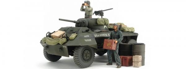 Militär-BausatzM8 Greyhound Combat Patrol Setder US Army im Maßstab 1/35.