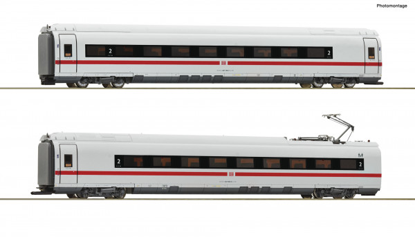 H0 ICE BR 407 Ergänzungsset-II DBAG Ep.6 2-tlg. WS
