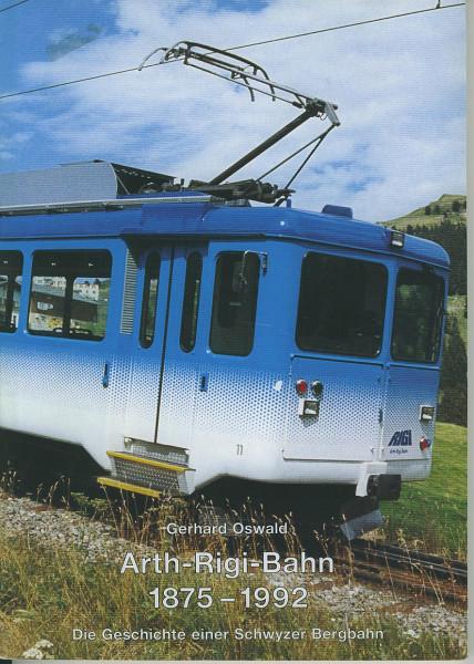 Buch Arth-Rigi-Bahn - 1875-1992