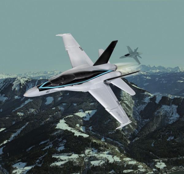 F/A-18 Hornet 'Top Gun'