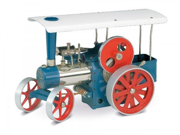 Dampftraktor. blau (D405)