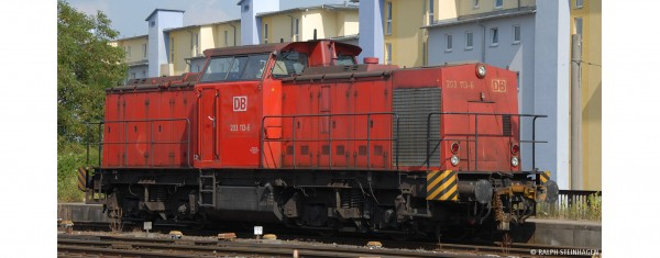 H0 Diesellok 203 DB, V, DC ANALOG