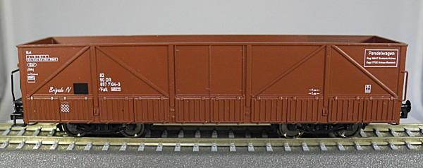 TT-WIEMO EXCLUSIV Sattelboden-Selbstentladewagen-Set Fall-6577 'Pendelwagen' DR Ep.IV 3-tlg. Sonder