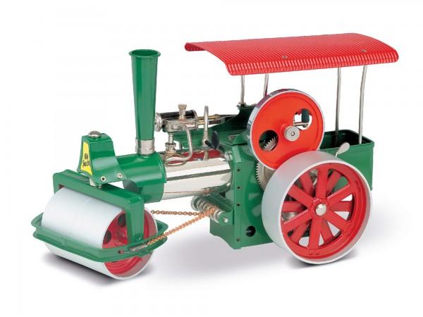 Bausatz Dampfwalze. grün