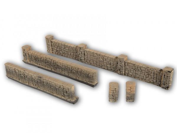 H0 Sandsteinmauern 105cm