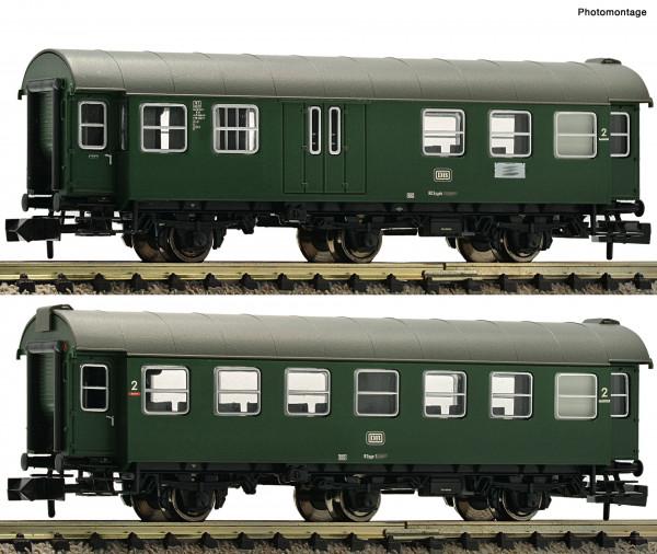 N Umbauwagen-Paar/3-achs. BD+BB DB Ep.IV grün