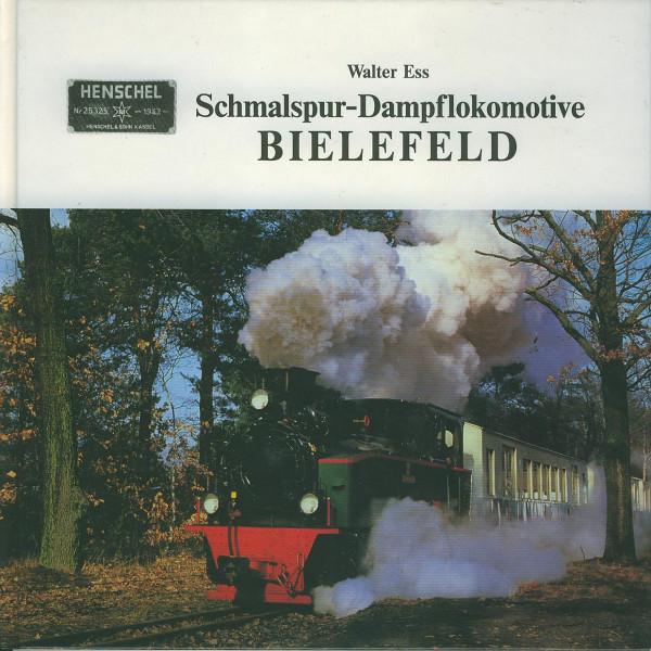 Buch Schmalspur-Dampflokomotive Bielefeld