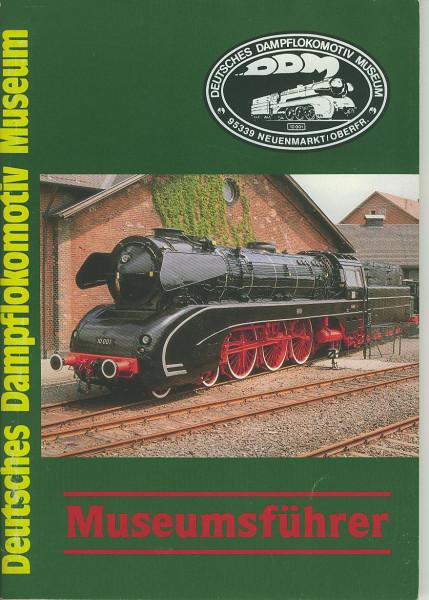 Buch Deutsches Dampflokomotiv Museum Neuenmarkt/Oberfranken - Museumsführer