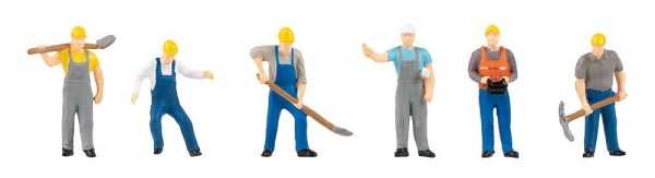 H0 Straßenbauarbeiter