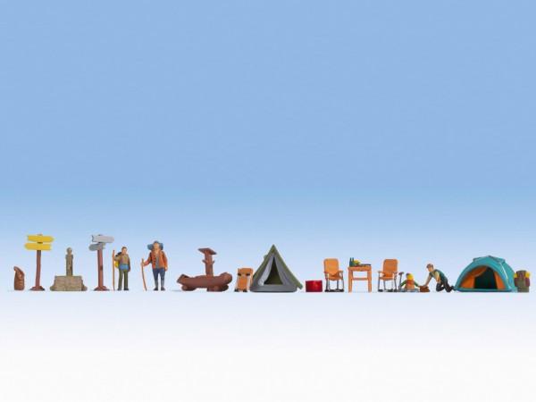 H0 Figuren-Themenwelt 'Camping'