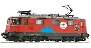 "H0 Elektrolokomotive 420 294-1 ""Circus Knie"", SBB, Ep.6, AC SOUND"