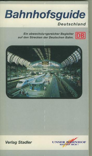 Buch Bahnhofsguide - Deutschland