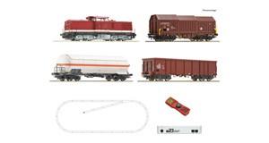H0 z21 start Digitalset: Diesellokomotive BR 114 mit Güterzug, DR, Ep.4, DCC