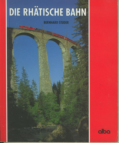 Buch Die Rhätische Bahn