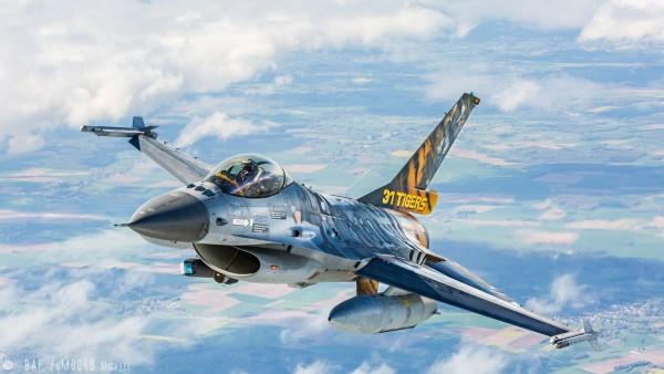 F-16 Mlu 31 Sqn. Kleine Broge