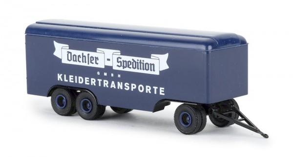"""87 3-Achs Kofferanhänger """"Dachser Kleidertransporte"""" NH02/20"""""""