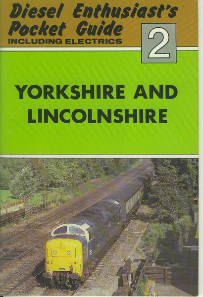 Buch Diesel Enthusiast's Pocket Guide 2 - Yorkshire and Lincolnshire