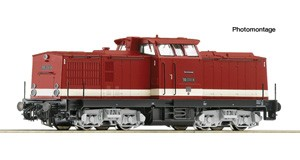 H0 Diesellokomotive BR 110, DR, Ep.4, DC