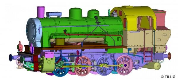 H0 Dampflok BR040-T(ELNA) SNCF-2 NH2020