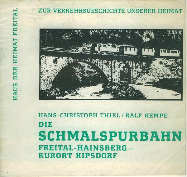 Buch Die Schmalspurbahn Freital-Hainsberg-Kurort Kipsdorf