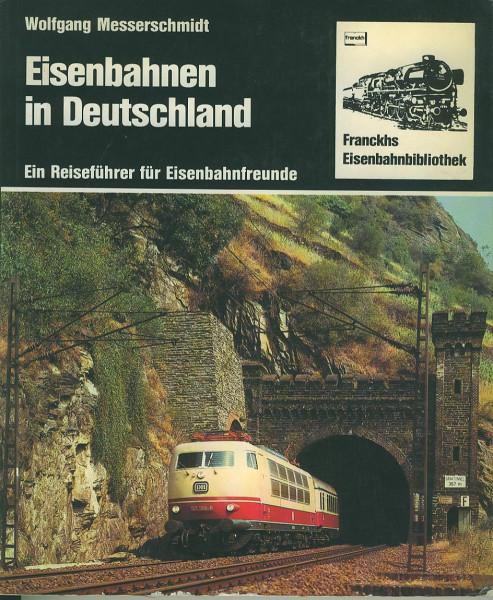 Buch Eisenbahnen in Deutschland - Ein Reiseführer für Eisenbahnfreunde