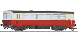 H0 Beiwagen zum Motorwagen M 152.0, CSD, Ep.4, DCC