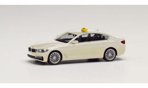87 BMW 5er/Limousine 'Taxi' creme NH05/2020