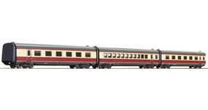 "H0 Ergänzungswagen-Set 3-tlg. ""Alpen-See-Express"", DB, Ep.4, DC"