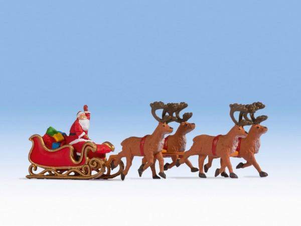 H0 Weihnachtsmann mit Schlitten NH08/2020