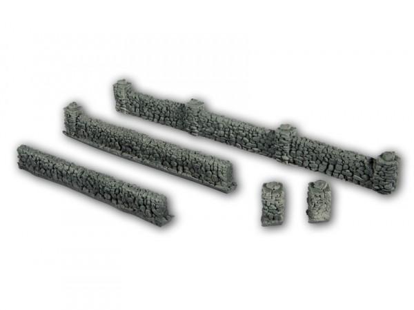 H0 Basaltmauern 105cm