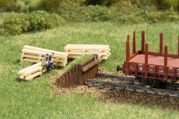 N Kasten-Prellbock Holz begrünt NH2020(09)