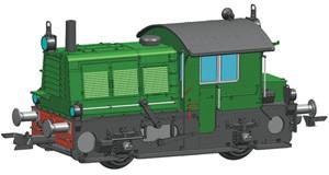 H0 Diesellokomotive Serie 200/300, NS, Ep.3-4, DCC SOUND