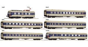 """H0 Elektrotriebzug 4010.04 """"Transalpin"""" 6-tlg., ÖBB, Ep.4, DC"""