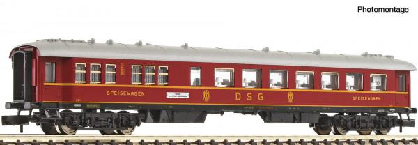 N F-Zug Speisewagen/4-achs.DB Ep.III rot