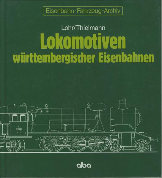 Buch Archiv 2.6 Lokomotiven württembergischer Eisenbahnen