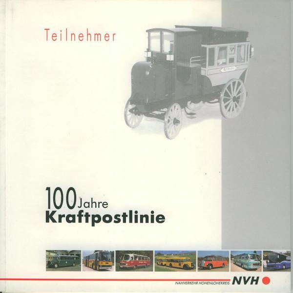 Buch 100 Jahre Kraftpostlinie - Oldtimer Bustreffen mit Buskorso