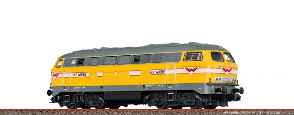 H0 Diesellok 216 Wiebe, VI, DC ANALOG