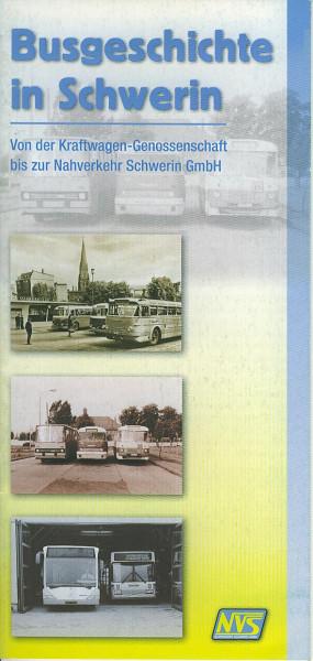 Buch Busgeschichte in Schwerin - Von der Kraftverkehr-Genossenschaft