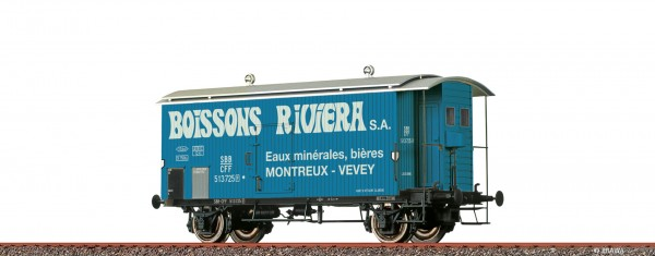 H0 Güterwagen K2 SBB, III, Riviera