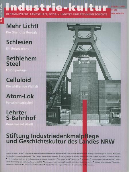 Heft Industrie-Kultur 01/1996