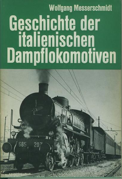 Buch Geschichte der italienischen Dampflokomotiven