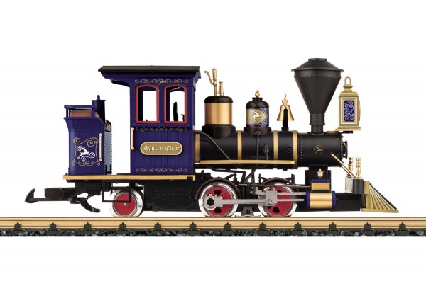 G US-Feldbahn-Dampflok 'Weihnachtslok Chloe' NH2020