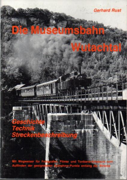 Buch Die Museumsbahn Wutachtal - Geschichte, Technik, Streckenbeschreibung