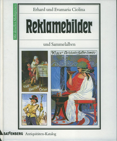 Buch Reklamebilder und Sammelalben - Antiquitäten-Katalog