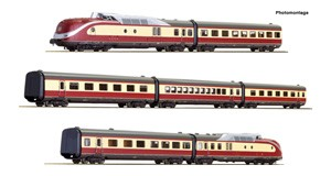 "H0 Dieseltriebzug BR 601 ""Alpen-See-Express"" 7-tlg., DB, Ep.4, DC"