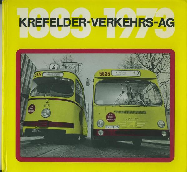 Buch Krefelder-Verkehrs-AG 1883-1973