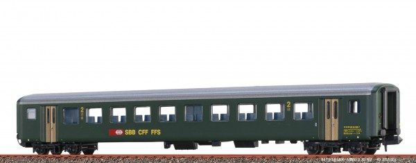 N Personenwagen EW II SBB, IV